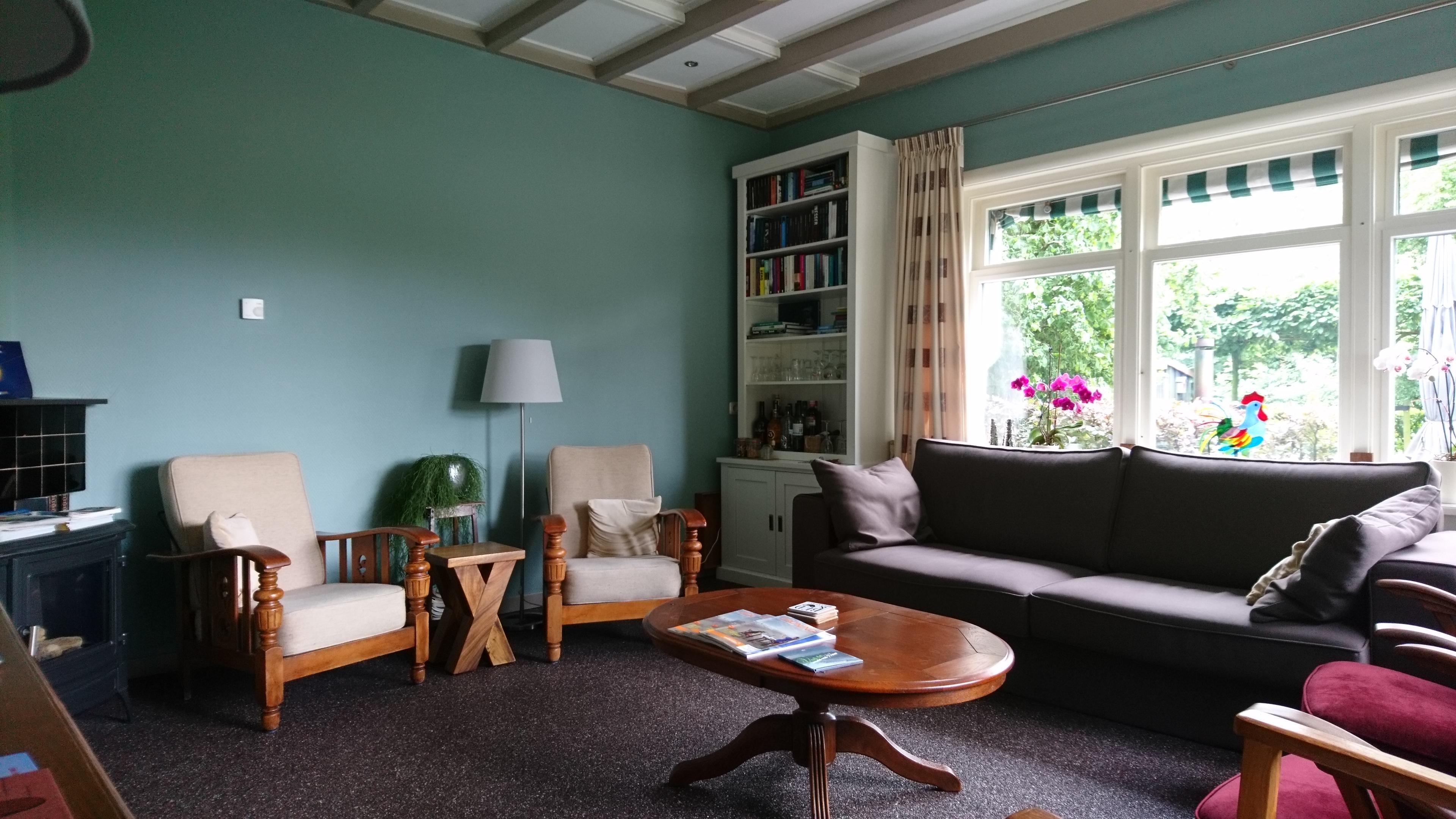 woonkamer gasten boekenkast